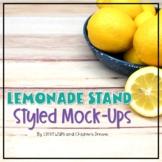 Lemonade Styled Images   Summer Mockups