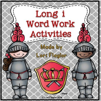 Long i Word Work Activites