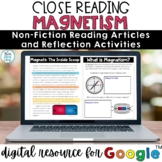 Magnets Digital Reading Comprehension Passages | Distance Learning