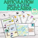 Make a Scene Articulation Postcards