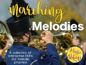 Marching Melodies {A Bundled set of melody games}