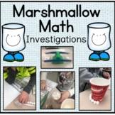 Marshmallow Math | Measurement | Winter Math Activities |