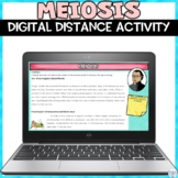 Meiosis Cell Division Digital Distance Learning Activity