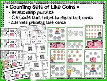 Money Masters {Digital & Printable Practice for Counting Coins}