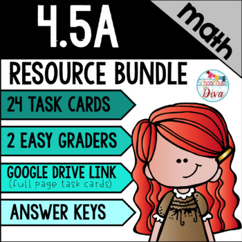 Multi-Step Problems - 4.5A Math TEKS Resource Bundle