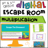 Digital Escape Room: Multiplication Distance Learning