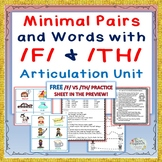 50% off New Post: Minimal Pairs and Words with /F/ & /TH/