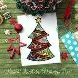 New Release Musicala Mandala Christmas Tree with bonus col