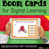 Digraph Boom Cards for Distance Learning with At Home Tips