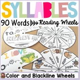 PHONICS: FINAL STABLE SYLLABLES: READING/SPELLING WORD WHEELS