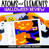 Atoms Digital Halloween Activity