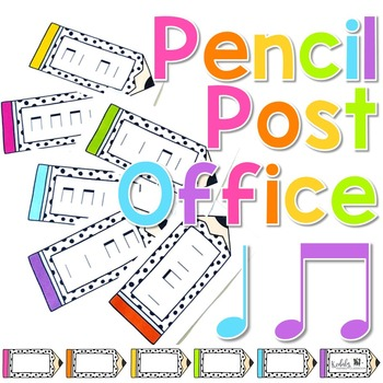 Pencil Post Office Rhythm Games: ta and titi