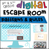 Digital Escape Room: Patterns & Rules Distance Learning