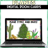 Plant Digital Boom Cards Activity for Distance Learning