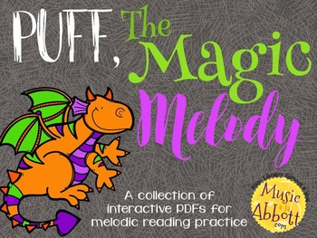 Puff the Magic Melody {A Bundled Set of Melodic Games}