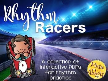 Rhythm Racers {A Bundled Set of Rhythm Games}