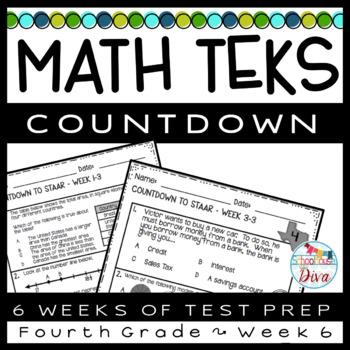 STAAR Math Week 6