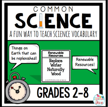Science Vocabulary Game - Editable
