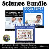 Scientific Method Reading Comprehension   Boom Cards and P