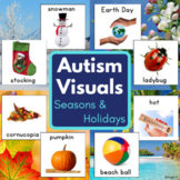 Four Seasons and Holidays Bundle for Special Education, Speech Therapy, Pecs
