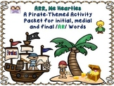 Set Sail For A  Pirate-Themed Postvocalic /R/ Artic Activity Packet-/AR/ Words