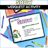 Snow Winter Weather Digital Research Activity