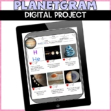 Solar System Planets Digital Distance Learning Project
