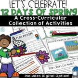 Spring Reading Passages Writing Activities Math