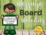 St. Patrick's Day Message Board Melodies {A Bundled Set}