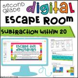 Subtraction Digital Escape Room | Distance Learning