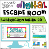 Subtraction Digital Escape Room | Distance Learning