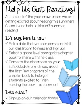 Summer Reading Program Kick Off