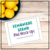 Summer Themed Landscape iPad Mockups   Lemonade Styled Images
