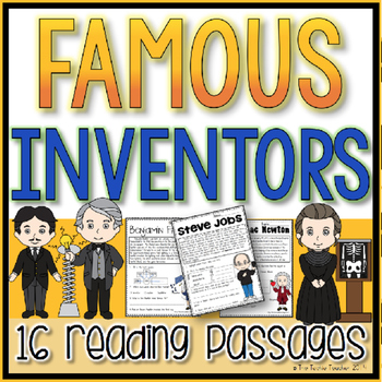 Famous Inventors Reading Passages