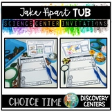 Science Center Activities | Take-Apart Tub | Choice Time Discovery Centers