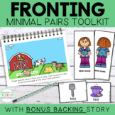 Teach Phonology: Fronting & Backing Story & Minimal Pairs