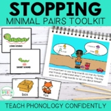 Teach Phonology: Stopping Story & Minimal Pairs Cards
