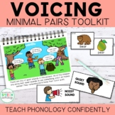 Teach Phonology-Voicing & Devoicing Story & Minimal Pairs Cards