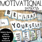 Positive Quotes Bulletin Board | Test Prep Posters | Motivational Testing Notes