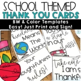 Thank You Cards Notes   For Students from Teachers