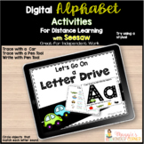 Digital Letter and Sound Road Trip Activity Distance Learning