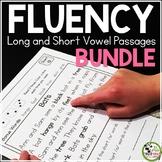 Fluency Passages Grades 1-3 BUNDLE {Long and Short Vowels}