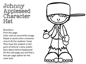 All About Johnny Appleseed Interactive Brochure and More!