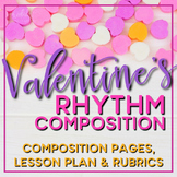 Valentine's Day Composition Pages and Mini Lessons
