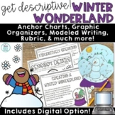 Winter Writing Activities   Snowglobe Template