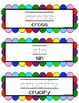 Easter Activities - Write it & Wipe it Literacy Center