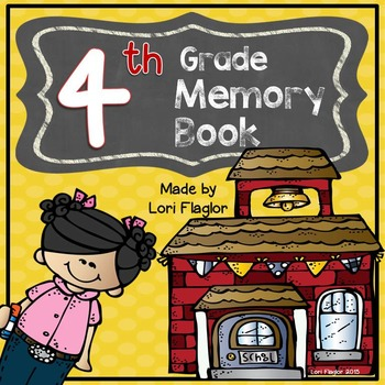 Yearlong Memory Book- 4th Grade Edition