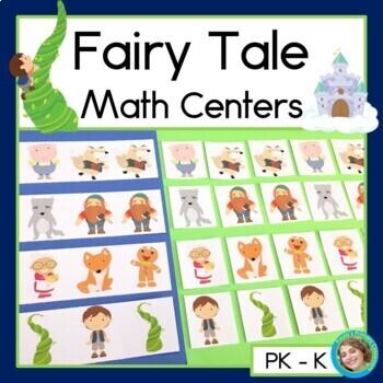 Fairy Tale Math Centers for Preschool and Kindergarten