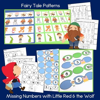 Fairy Tale Math Centers for Preschool and Kindergarten