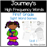 Journeys 1st Grade High Frequency Word Practice Mega Pack,